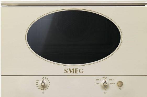 Smeg MP822NPO beépíthető mikrohullámú sütő