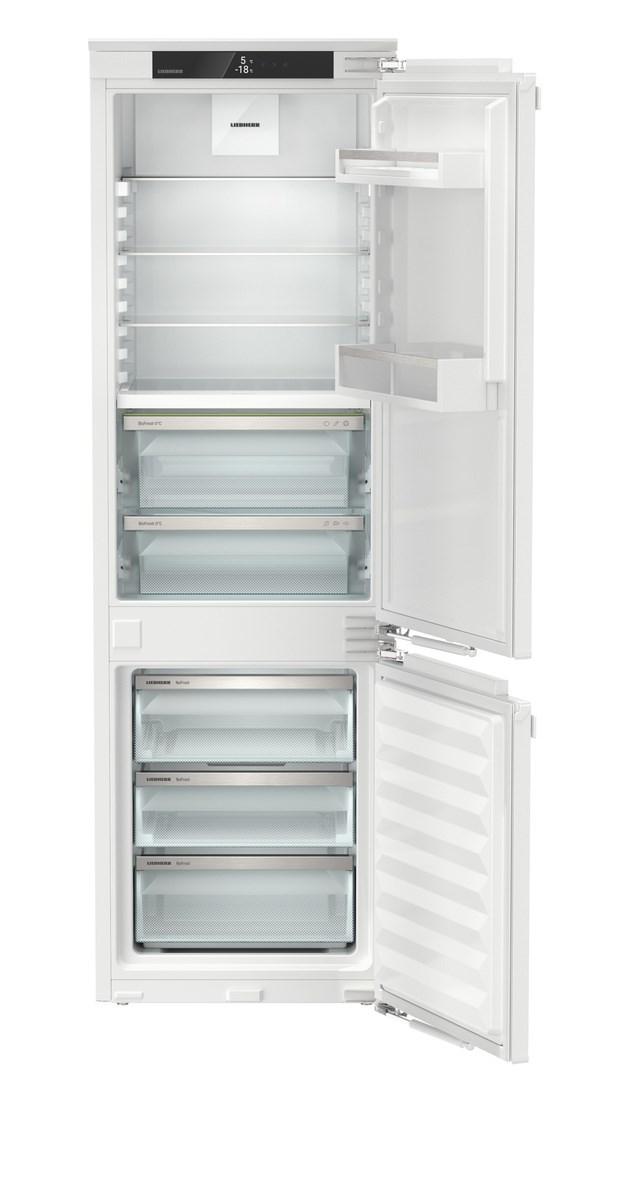 Liebherr ICBNei 5123 beépíthető, kombinált hűtő-fagyasztószekrény