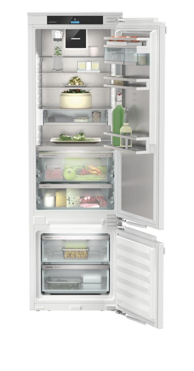 Liebherr ICBdi 5182 beépíthető, kombinált hűtő-fagyasztószekrény