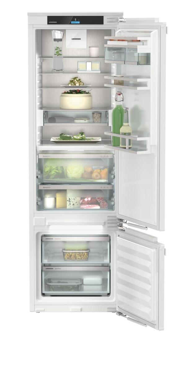 Liebherr ICBb 5152 beépíthető, kombinált hűtő-fagyasztószekrény