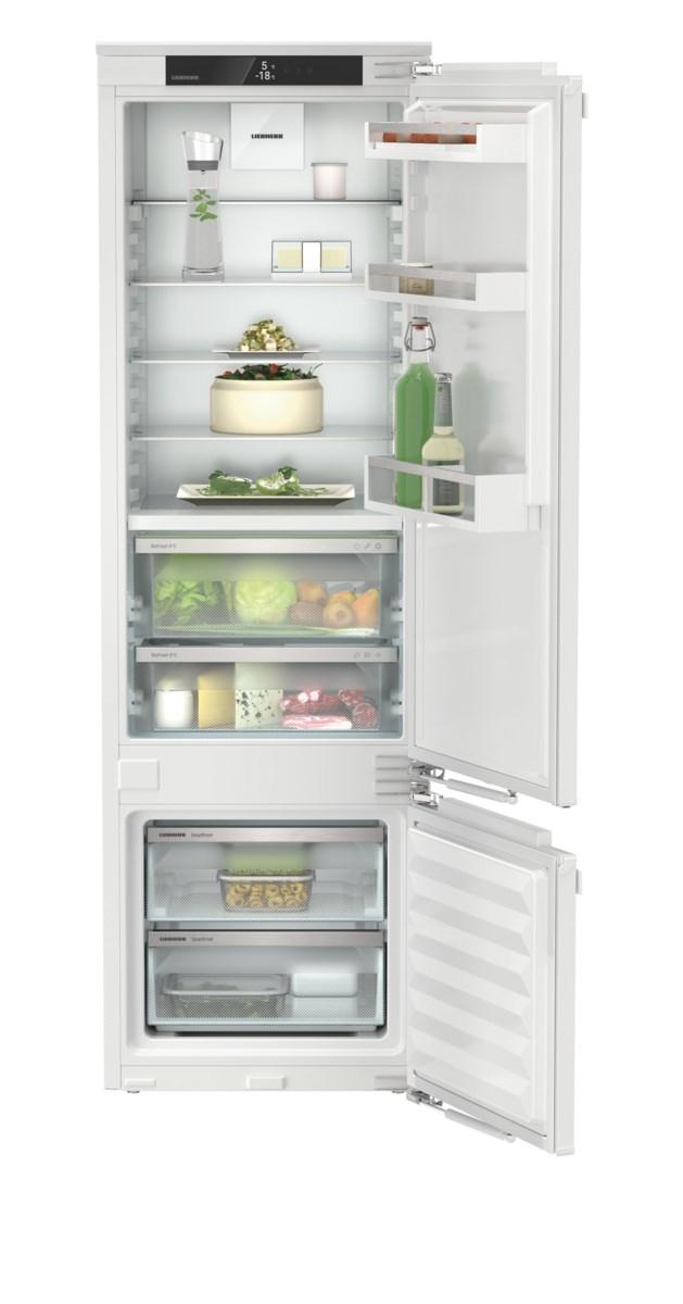 Liebherr ICBdi 5122 beépíthető, kombinált hűtő-fagyasztószekrény