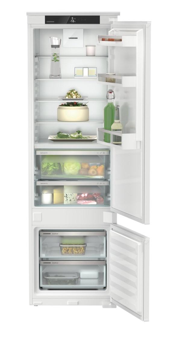 Liebherr ICBSd 5122 beépíthető, kombinált hűtő-fagyasztószekrény