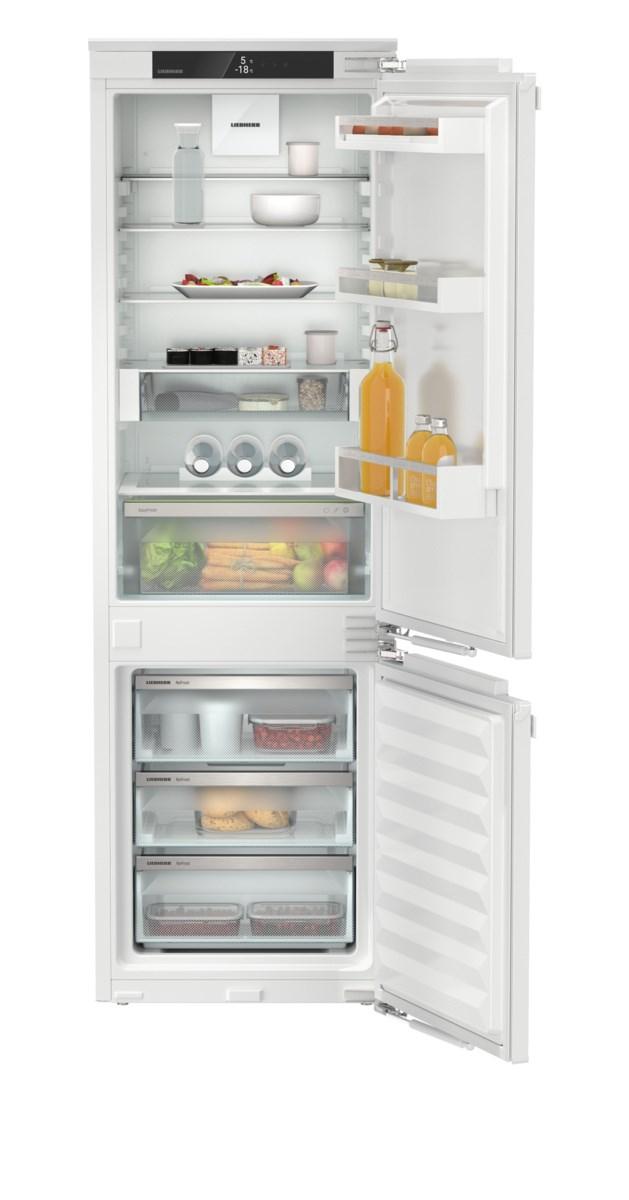 Liebherr ICNd 5123 beépíthető, kombinált hűtő-fagyasztószekrény