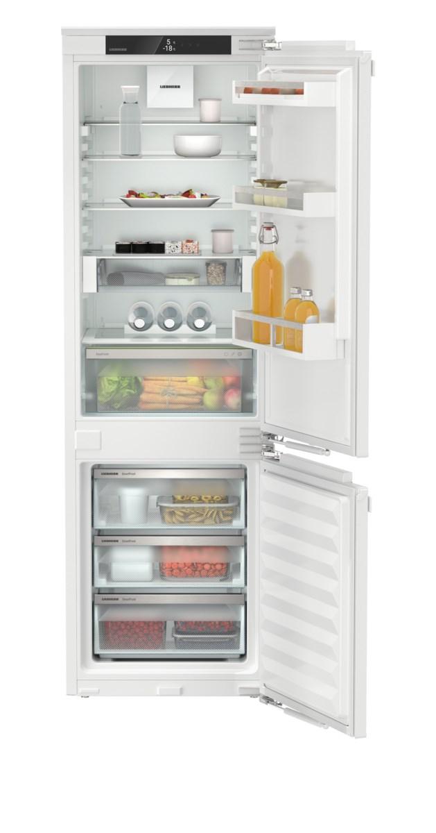 Liebherr ICd 5123 beépíthető, kombinált hűtő-fagyasztószekrény