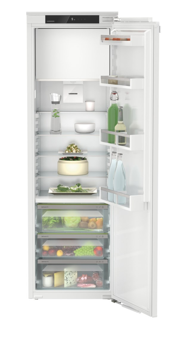 Liebherr IRBe 5121 beépíthető, kombinált hűtő-fagyasztószekrény