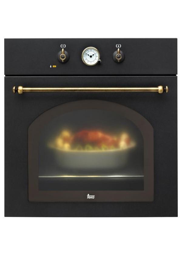Teka HR 550 Beépíthető rusztikus multifunkciós sütő, sötétszürke