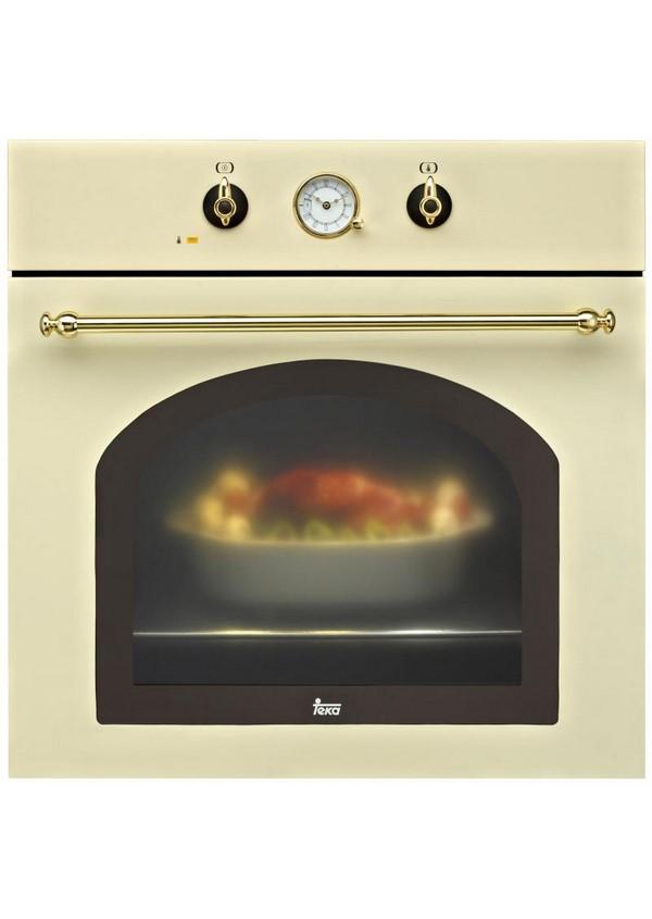 Teka HR 550 Beépíthető rusztikus multifunkciós sütő, topázbézs