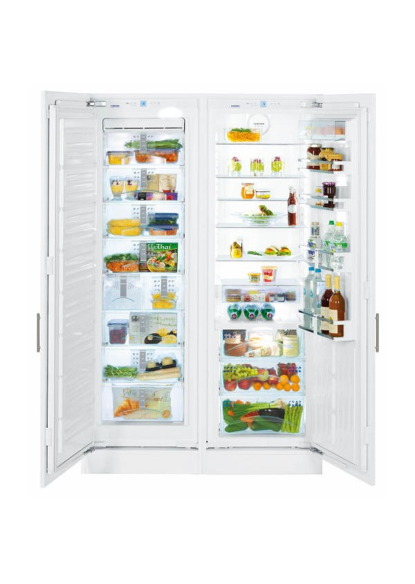 Liebherr SBS 70I4 Side-by-side hűtőszekrény