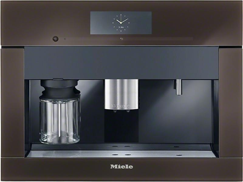Miele CVA 6805 - Beépíthető kávéautomata havanna barna