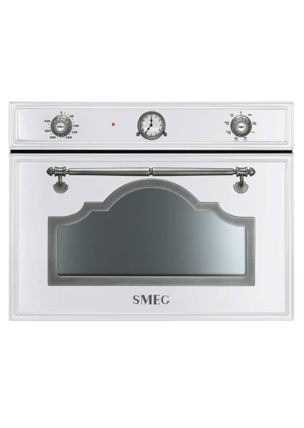Smeg SF4750MBS Kompakt mikrohullámú sütő