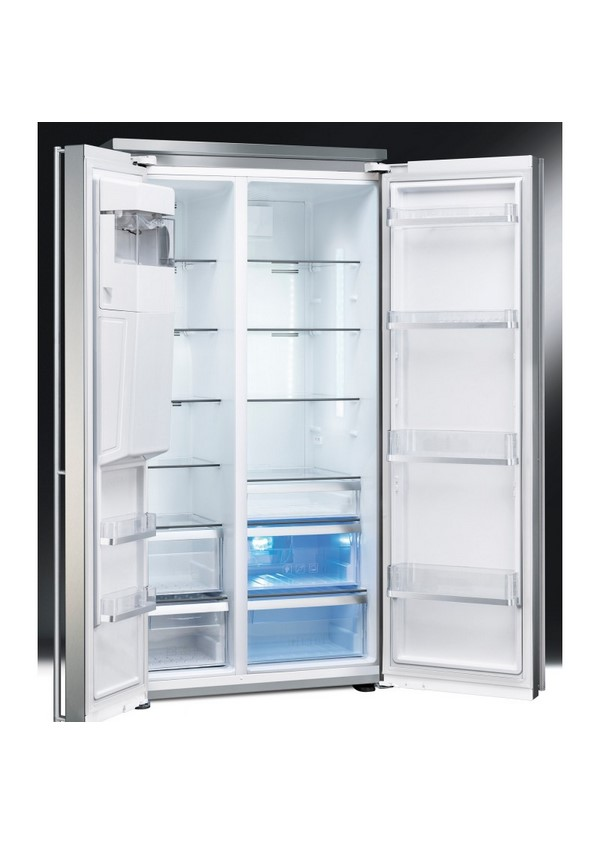 Smeg FA63X Szabadonálló kombinált side by side hűtő és fagyasztó