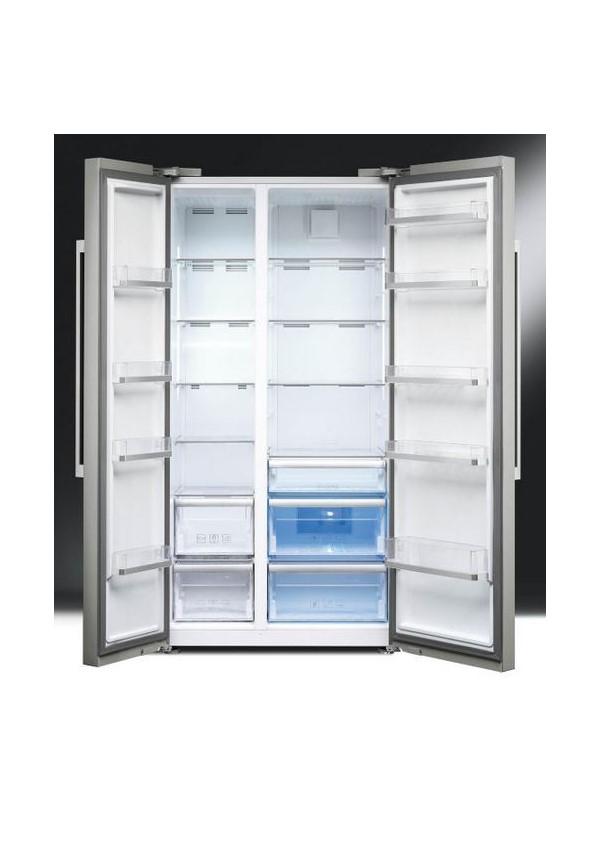Smeg SBS63XE Szabadonálló kombinált side by side hűtő és fagyasztó