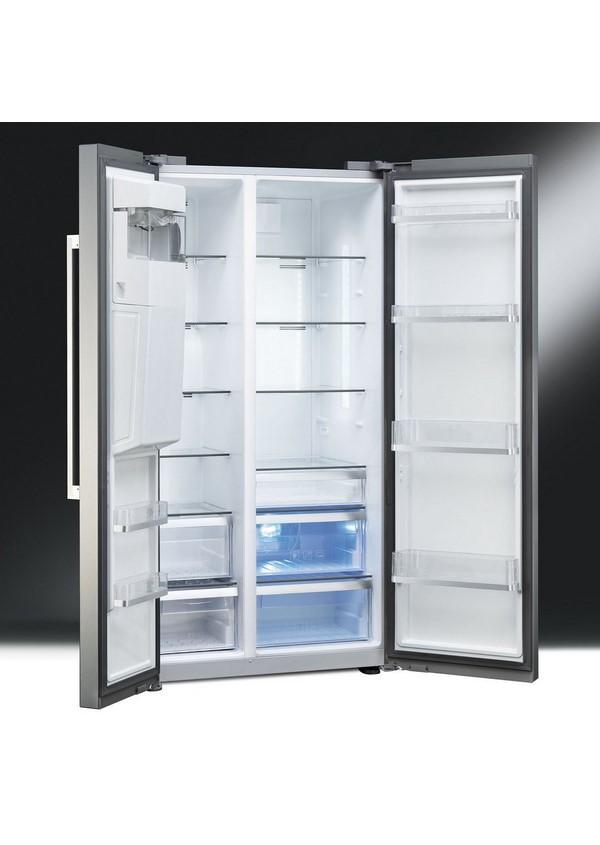 Smeg SBS63NED Szabadonálló kombinált side by side hűtő és fagyasztó