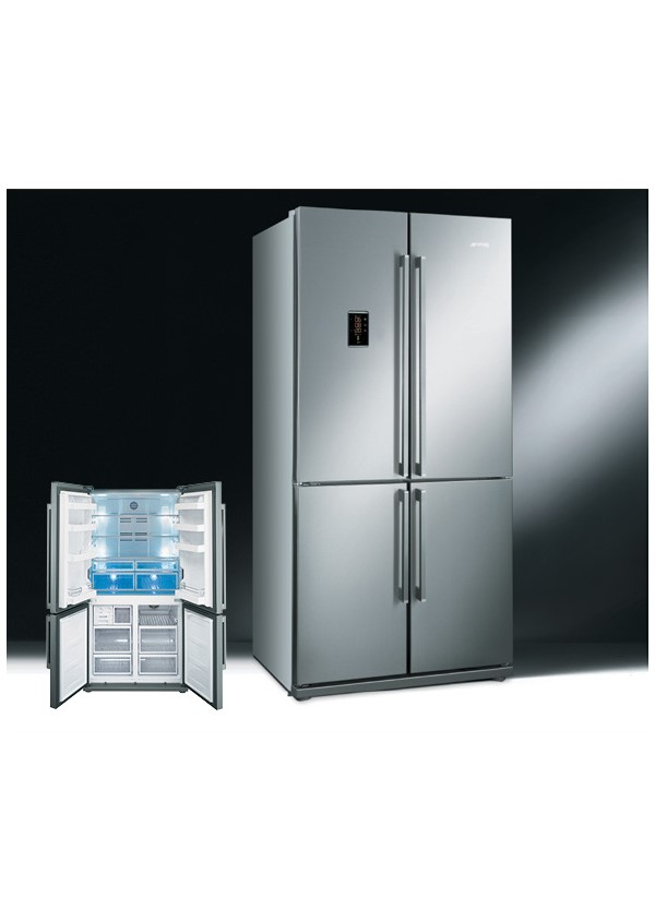 Smeg FQ60XPE Side by side hűtő, inox