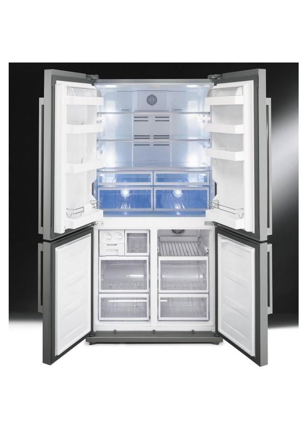 Smeg FQ60XP Side by side hűtő