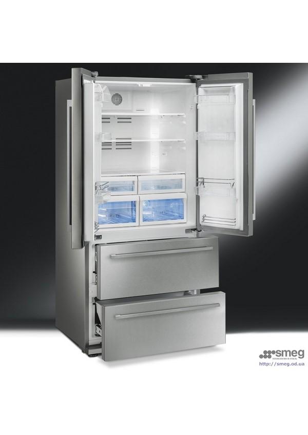 Smeg FQ55FXE Side by side hűtő