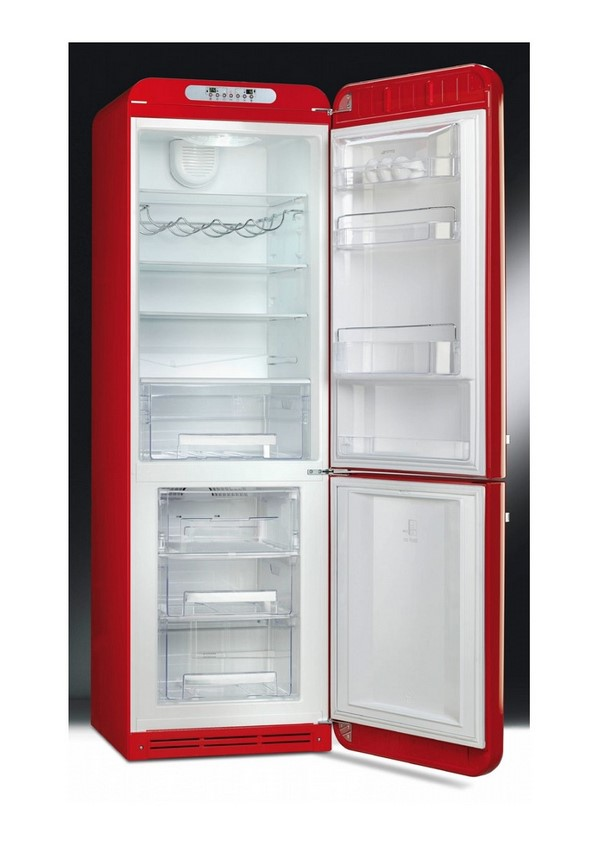 Smeg FAB32RRD3 Kombinált hűtő és fagyasztó