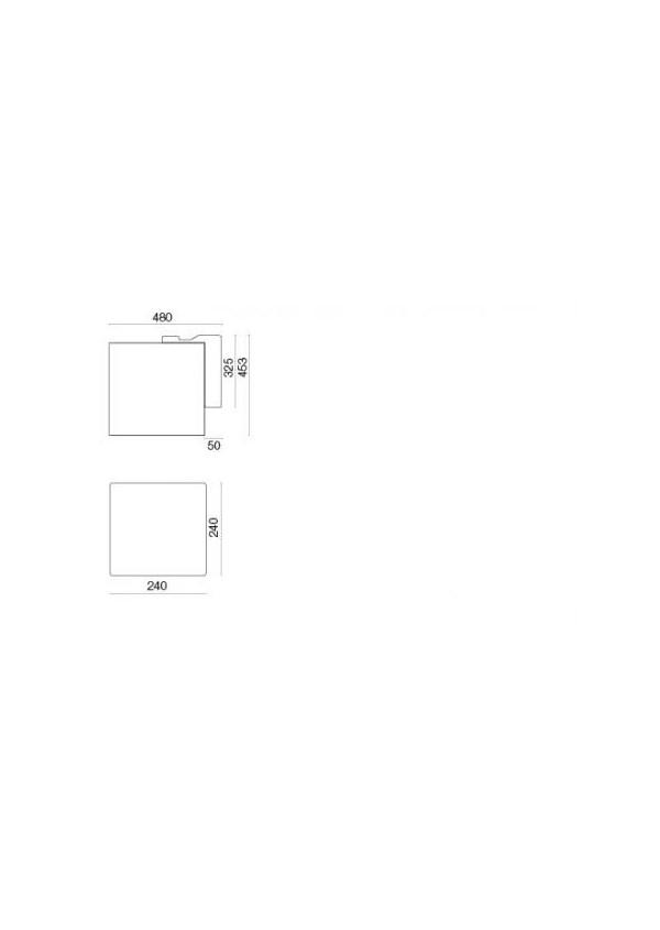 Falmec RUBIK E.ion WHITE Fali páraelszívó, fehér