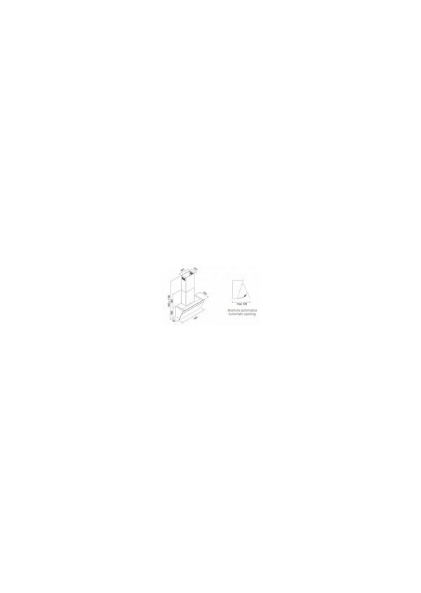 Falmec BUTTERFLY 90 Fali páraelszívó, fehér