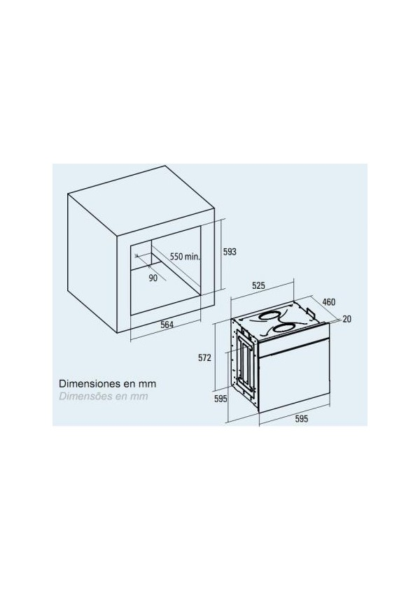 Cata CM 760 AS BK Beépíthető multifunkciós elektromos sütő