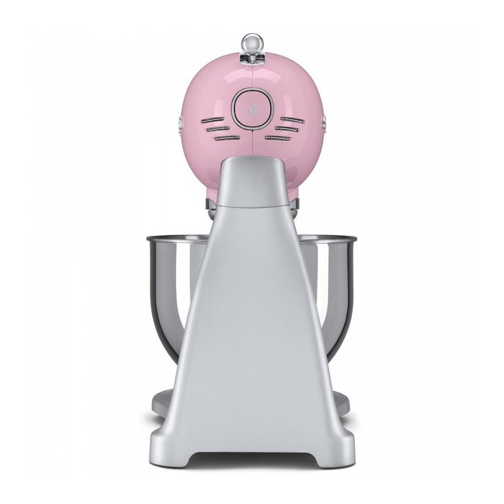 Smeg SMF02PKEU Retro 50-es évek konyhai robotgép, rózsaszín