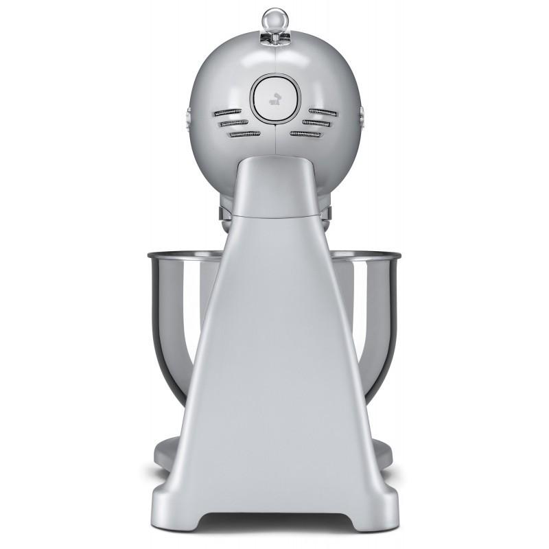 Smeg SMF02SVEU Retro 50-es évek konyhai robotgép, ezüst