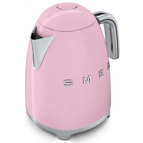 Smeg KLF03PKEU Retro 50-es évek Vízforraló, rózsaszín