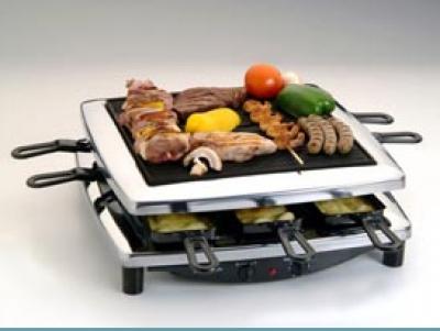 Steba RC 3 PLUS C Raclette grillsütő, króm design