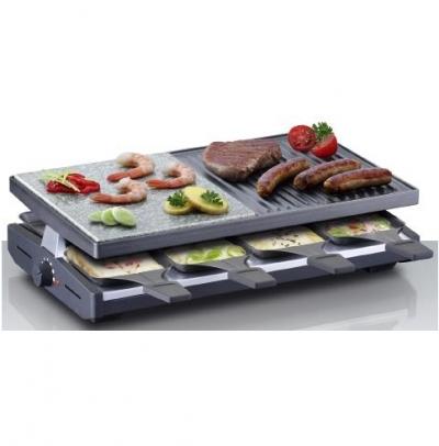 Steba RC 58 Raclette grill kőlappal 8 személyes