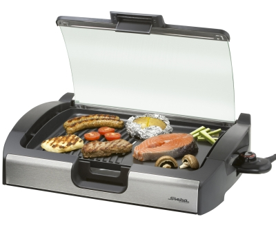 Steba VG 200 Asztali grill üvegfedéllel