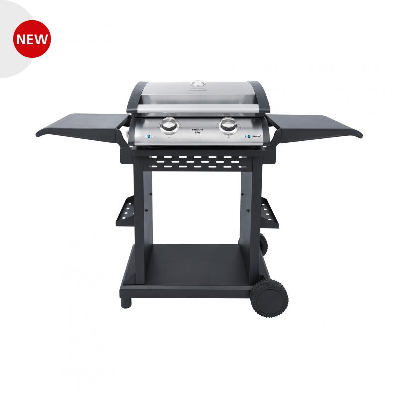 Steba VG 500 Prémium BBQ grillsütő, grillkocsival