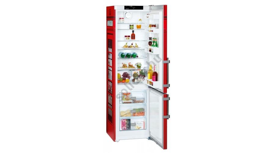 Liebherr Ctb3825 Comfort alulfagyasztós hűtő telefonfülke design