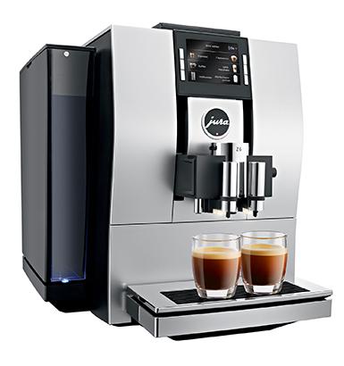 Jura Z6 Satinsilver Automata kávéfőzőgép