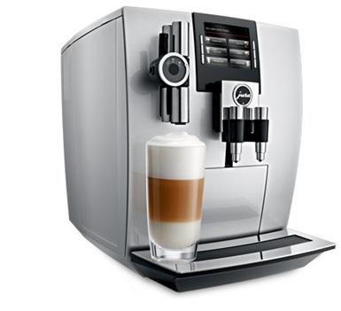 Jura Impressa J90 Kávéfőzőgép, Brillantsilver