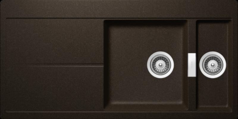 Schock Horizont D-150 Gránit mosogató, bronze