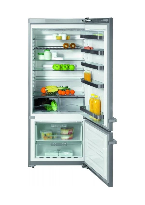 Miele KFN 14842 SD ed/cs-1 Szabadon álló design hűtő- és fagyasztó készülék