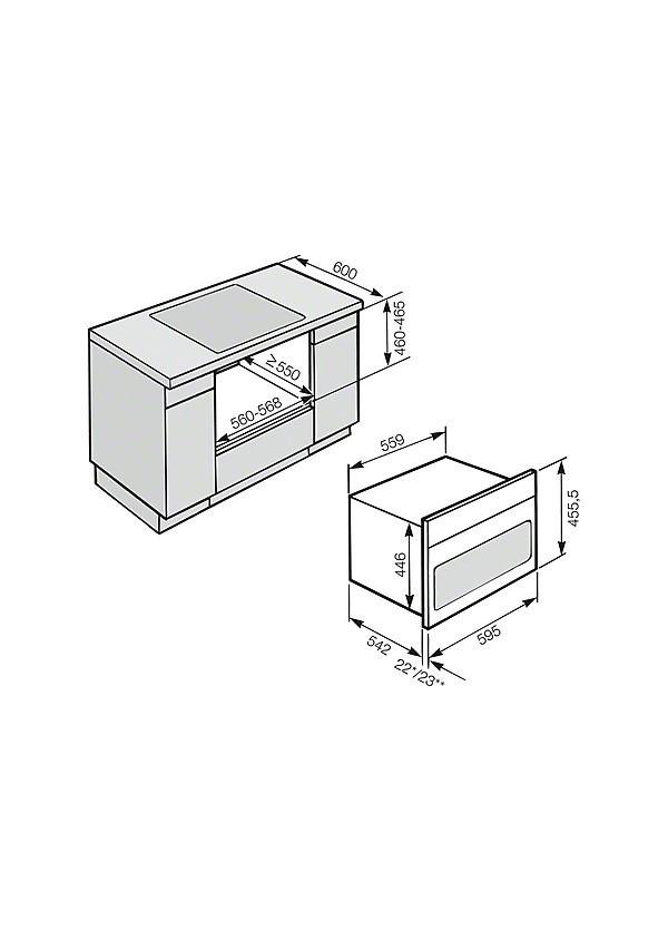 miele h 6860 bp be p thet s t havanna barna konyhag p zlet. Black Bedroom Furniture Sets. Home Design Ideas