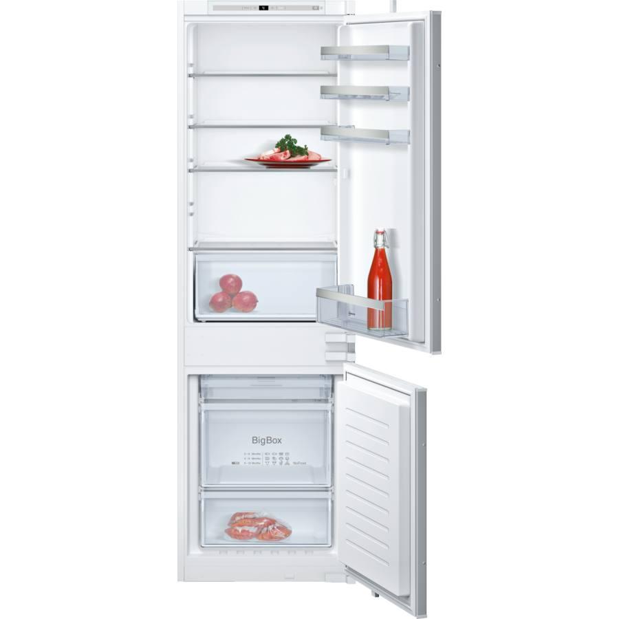 Neff KI7862S30 beépíthető alulfagyasztós kombinált hűtőszekrény
