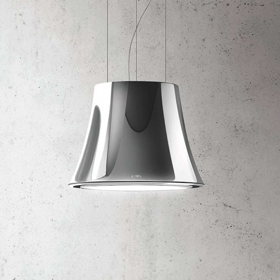 Elica AUDREY SENSE - HEAVYMETAL függesztett páraelszívó - fényes fém