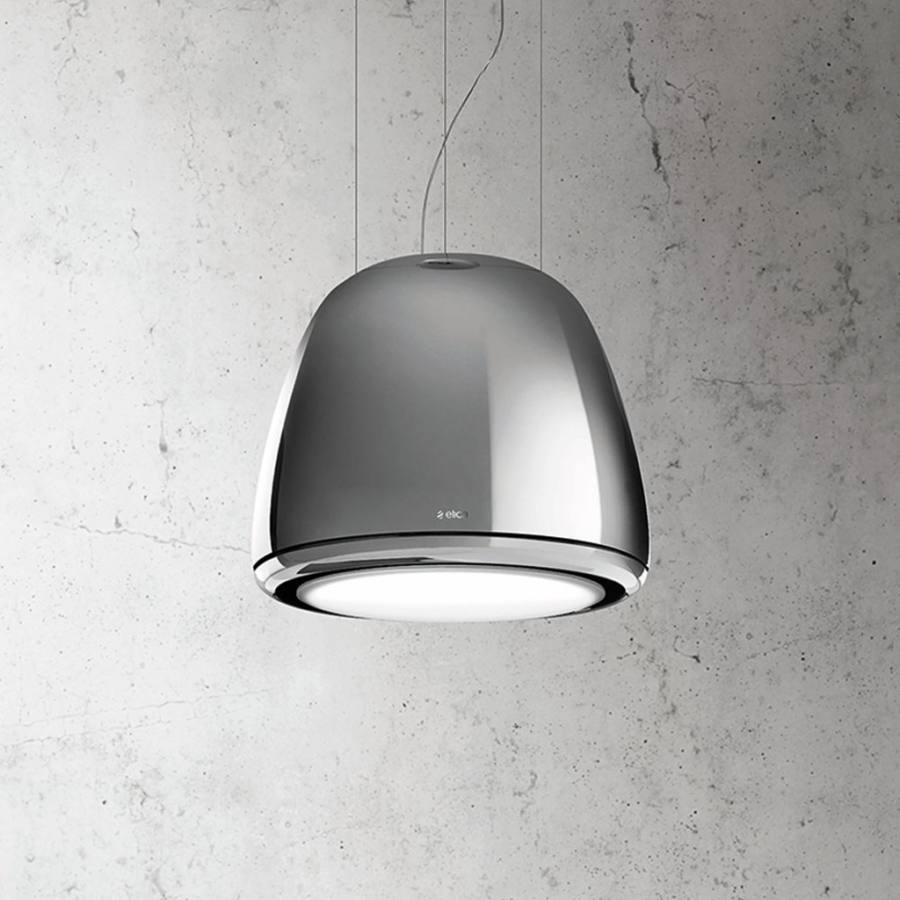 Elica EDITH SENSE - HEAVYMETAL/F/50 függesztett páraelszívó - fényes fém