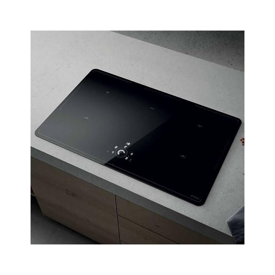 Elica Lien Diamond 805 BL beépíthető indukciós kerámia főzőlap - fekete
