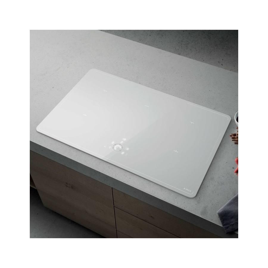 Elica Lien Diamond 805 WH beépíthető indukciós kerámia főzőlap - fehér