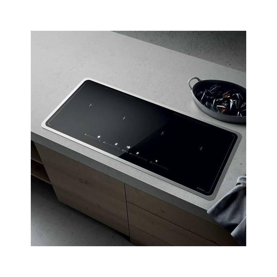 Elica Lien Diamond 874 BL beépíthető indukciós kerámia főzőlap - fekete