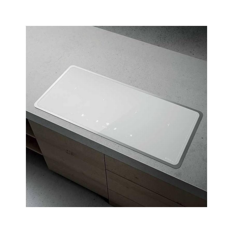 Elica Lien Diamond Frame 904 WH beépíthető indukciós kerámia főzőlap - fehér