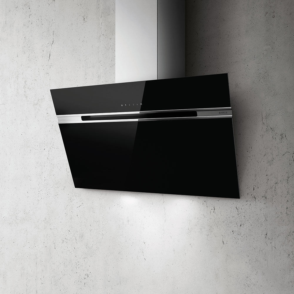 ELICA STRIPE LUX 90cm fekete/fehér/inox