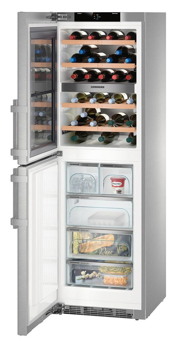 Liebherr SWTNes 4285-20 borhűtő-és fagyasztószekrény