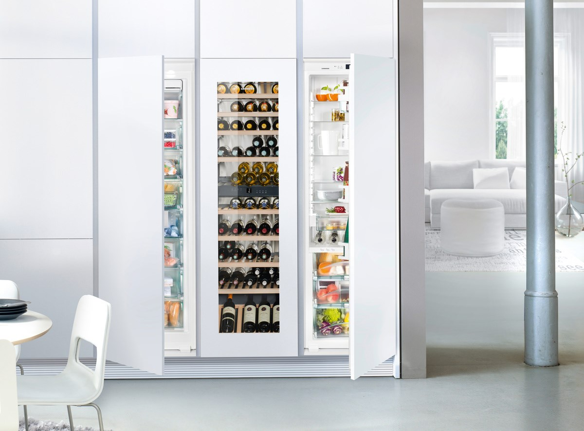 Liebherr SBSWgw 99I5-20 side-by-side hűtőszekrény