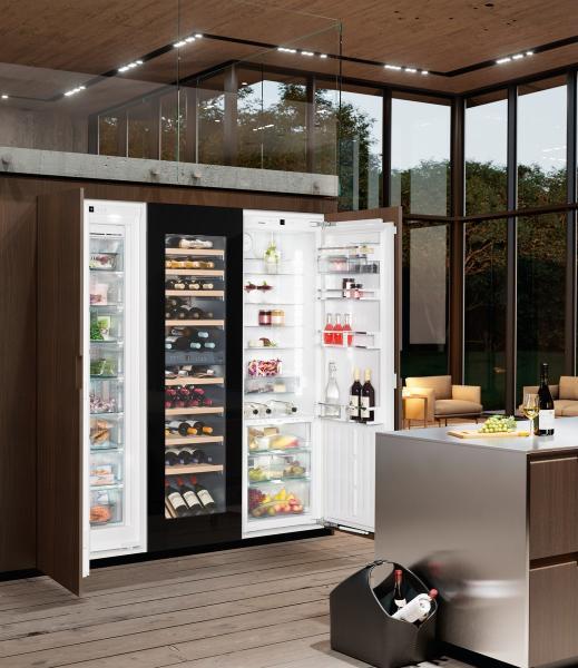 Liebherr SBSWgb 99I5-20 side-by-side hűtőszekrény