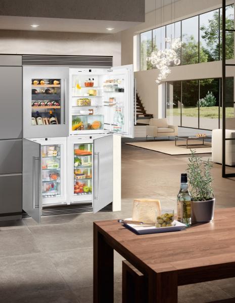 Liebherr SBSWdf 64I5-20 side-by-side hűtőszekrény