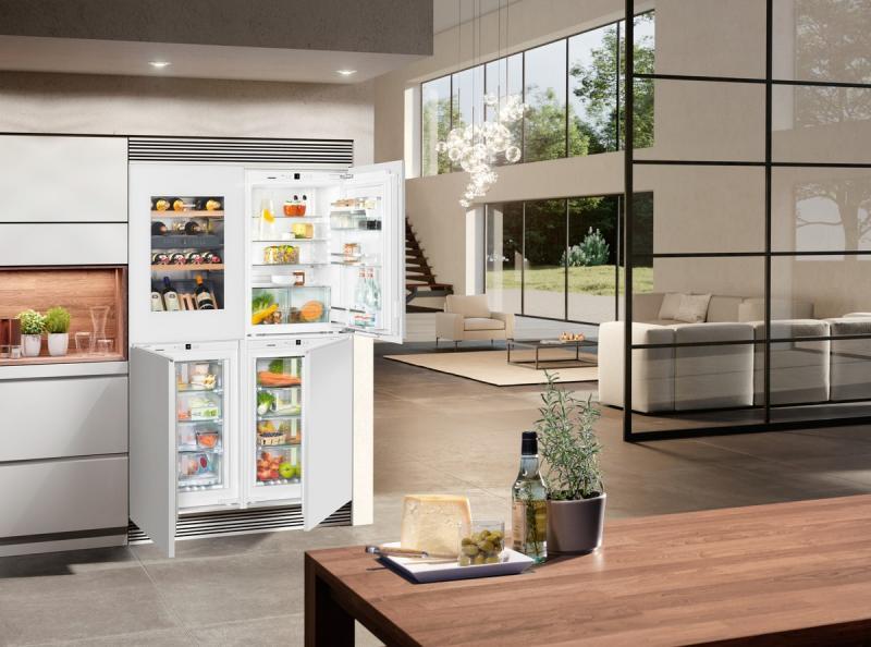 Liebherr SBSWgw 64I5-20 side-by-side hűtőszekrény